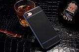 Cassa di cuoio ibrida del telefono di protezione di placcatura di qualità del nuovo prodotto