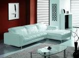 Sofá moderno do couro da parte superior da mobília (SBO-3933)