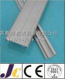profil 6063t5 en aluminium anodisé argenté avec la décoration (JC-C-90080)