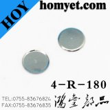Produtos de ferragem chapeados niquelar da abóbada do metal do aço inoxidável para o interruptor do tacto