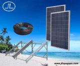 schraubenartiges Sonnenenergie Gleichstrom-versenkbares Pumpen-System 500W des Läufer-3inch