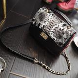 Heißer Verkaufs-Schlange-Muster-Frauen-Kurier sackt kleine Schulter-Handtasche für Damen Sy8139 ein