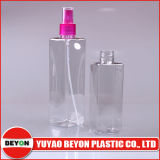 botella plástica cuadrada del animal doméstico 250ml con la bomba del rociador (ZY01-C024)