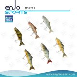 Multi richiamo poco profondo congiunto dell'attrezzatura di pesca di pesca dell'esca bassa realistica di richiamo (MS1213)