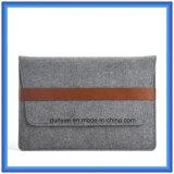 """Fördernde umweltfreundliche Wolle-Filz-Laptop-Aktenkoffer-Laptop-Hülsen-Beutel mit vorderer Tasche für Luft die Apple-MacBook PRO, PROretina 13.3 """" (70% ZUFRIEDENE WOLLEN)"""