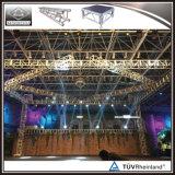 Preiswertes verwendetes quadratischer Beleuchtung-Binder-Aluminiumstadium für Konzert