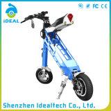 """""""trotinette"""" dobrado elétrico da mobilidade das rodas da polegada dois da liga de alumínio 25km/H 10"""