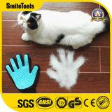 2 in 1 Haustier-Haar-Pinsel-Reinigungs-Handschuh-Pflegenhaustier-Handschuh