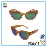 Gafas de sol polarizadas marca de fábrica de la manera de la promoción para las mujeres