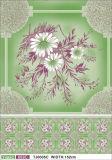 Estilo e casamento lisos, HOME, banquete, partido, Tablecloth impresso material do PVC do uso do hotel com revestimento protetor