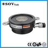 Único cilindro ativo de Jack da contraporca da panqueca para a construção (SOV-CLP)