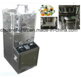 GMP Rotary Tablet Press Machine pour le sel de pillule Candy Compression Sterilize