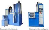 Calefacción de inducción supersónica del engranaje axial de la frecuencia que endurece la máquina para la superficie