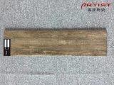 verglaasde Tegels van de Vloer van 600X150mm betegelt de Houten Ceramiektegel