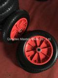 Plana de la PU espuma Carretilla de rueda de la rueda