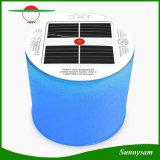 Portbale Foldable膨脹可能で再充電可能な10のLEDsの太陽エネルギーカラー変更のランタン軽い太陽防水屋外のキャンプライト