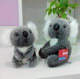 Koala enchido de Exqusite luxuoso pequeno extravagante macio