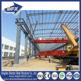 Armazém portal Pre-Projetado do aço estrutural do frame com disposição de projeto