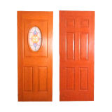 Fireproof 8 Painel com Glazed Center Arch Door Skin