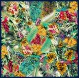 Изготовленный на заказ шарфы печатание 100% цифров Silk (F13-0069)