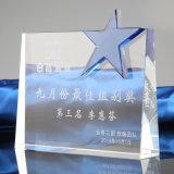 Concesión cristalina creativa de encargo del trofeo para el regalo del asunto