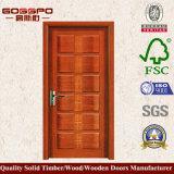 Sola puerta de madera de madera para el país de Medio Oriente (GSP2-012)