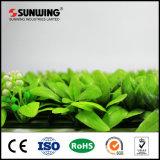 Videiras verdes artificiais plásticas materiais personalizadas do PE