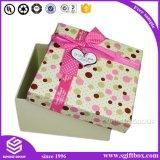 Vakje van de Gift van het Document van de douane het Verpakkende met Lint