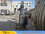 De spiraalvormige het Verwarmen van de Rol van de Pijp Reactor 2000L van de Tank met het Mengapparaat van het Anker
