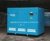 Bas compresseur d'air lubrifié rotatoire de la pression VSD (KF185L-5/INV)