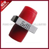 3dB bevestigde het Optische FC UPC Wijfje van de vezel aan Vrouwelijke Enige Wijze Van een flens voorzien Demper