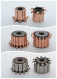 Hakenförmiger Kommutator für elektrischen Gerätemotor mit niedrigem Preis (7 Haken ID5mm OD11.2mm L11.3mm)