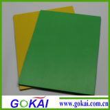 0.45 tarjetas coloreadas 5m m del PVC de la tarjeta de la muestra de la densidad