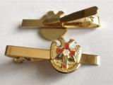 Barra de laço transversal do metal do ouro da promoção