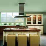 ヨーロッパ式の灰色の現代Laquerの食器棚