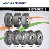 EU 시장 (215/75R17.5 225/70R19.5 315/80R22.5)를 위한 광선 트럭 타이어
