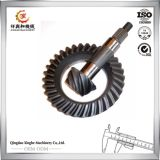 Engranaje de corona de la rueda de engranaje del acero inoxidable de la máquina del CNC para las piezas de automóvil
