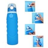 Foldableシリコーンのびんを飲むLeak-Proof携帯用水