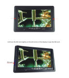 """7 do """" cartão impermeável do sistema de inspeção 4GB SD do dreno do encanamento da tubulação da câmera do esgoto LCD"""