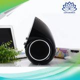 Altofalante portátil estereofónico sem fio de Bluetooth com ajuste dobro da rotação do dobro do volume