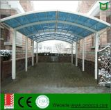 Tettoia, Carports e baldacchini superiori del giardino della lega di alluminio con il tetto del policarbonato