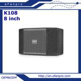 Strumentazione del sistema di altoparlante di karaoke di 8 pollici audio per la stanza di karaoke (K108 - TATTO)