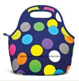 Sac de déjeuner de sac à main/néoprène d'emballage de déjeuner d'isolation thermique du néoprène