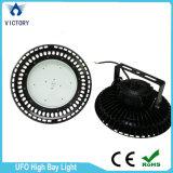 Iluminación industrial 200W de la alta luz LED de la bahía del UFO LED del poder más elevado