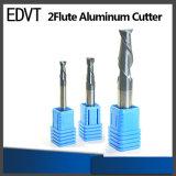 Herramienta de corte de aluminio del molino de extremo de los accesorios 2flute de Edvt