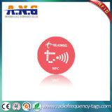 Wasser beständiges Kurbelgehäuse-Belüftung, das NFC programmiert, versieht Aufkleber mit Warnschild (NTAG 216)
