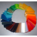 Лист Acrylic индикации логоса UV Печатание Компании