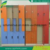 Ginástica de madeira 2 cacifos L forma da porta