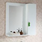 Vaidade cerâmica do banheiro da madeira contínua da alta qualidade da bancada