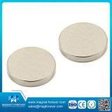 Platte NdFeB Magnet-runder Neodym-Magnet mit Qualität